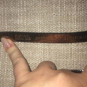 MICHAEL Michael Kors Bags - MICHAEL Michael Kors Pull Chain Signature Belt Bag